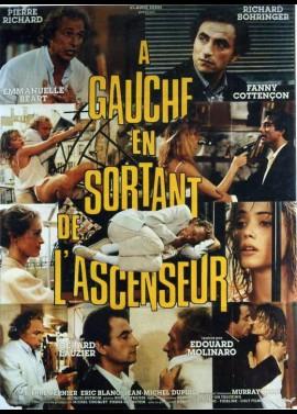 affiche du film A GAUCHE EN SORTANT DE L'ASCENCEUR