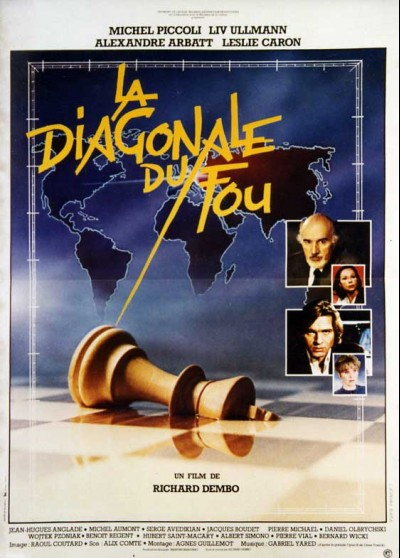DIAGONALE DU FOU (LA) movie poster
