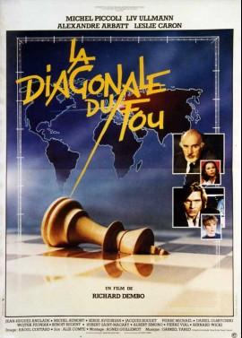 affiche du film DIAGONALE DU FOU (LA)