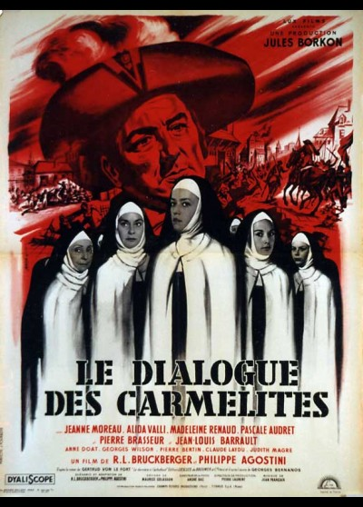 DIALOGUE DES CARMELITES (LE) movie poster