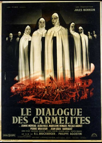 DIALOGUE DES CARMELITES (LE) movie poster