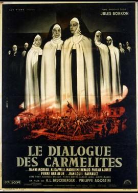 affiche du film DIALOGUE DES CARMELITES (LE)