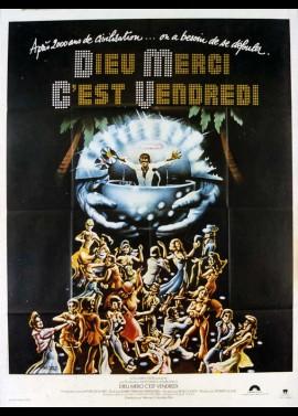 affiche du film DIEU MERCI C'EST VENDREDI