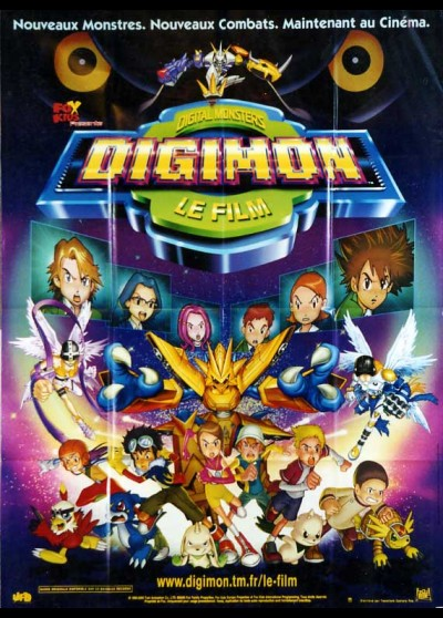 DIGIMON THE MOVIE movie poster