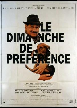 affiche du film DIMANCHE DE PREFERENCE (LE)