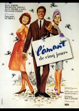 affiche du film AMANT DE CINQ JOURS (L')