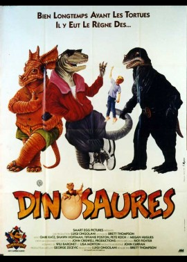 ADVENTURES IN DINOSAUR CITY movie poster