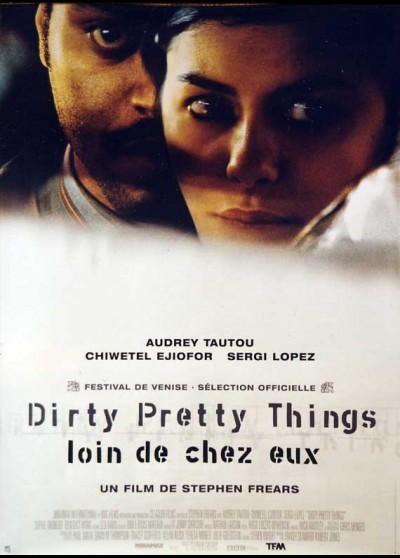 DIRTY PRETTY THINGS movie poster