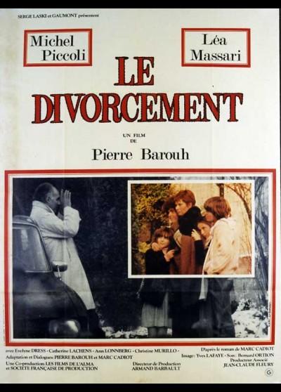DIVORCEMENT (LE) movie poster