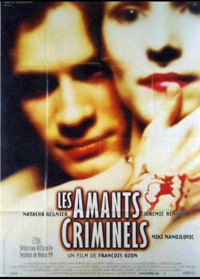 affiche du film AMANTS CRIMINELS (LES)