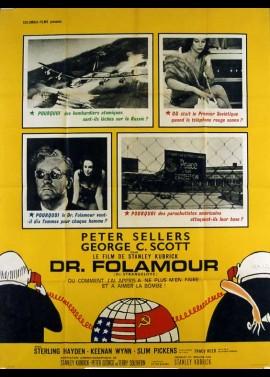 affiche du film DOCTEUR FOLAMOUR / DR FOLAMOUR