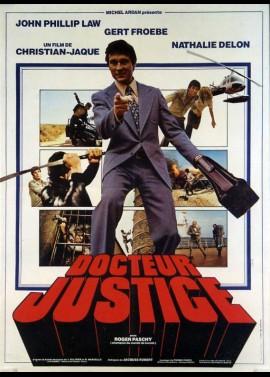 affiche du film DOCTEUR JUSTICE