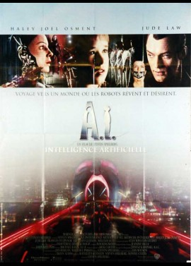 ARTIFICIAL INTELLIGENCE A.I movie poster