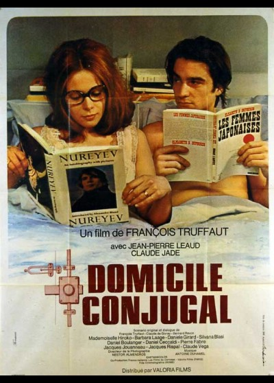 DOMICILE CONJUGAL movie poster