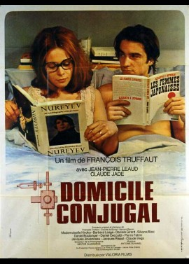 DOMICILE CONJUGAL movie poster