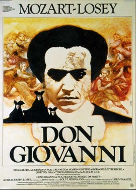 affiche du film DON GIOVANNI