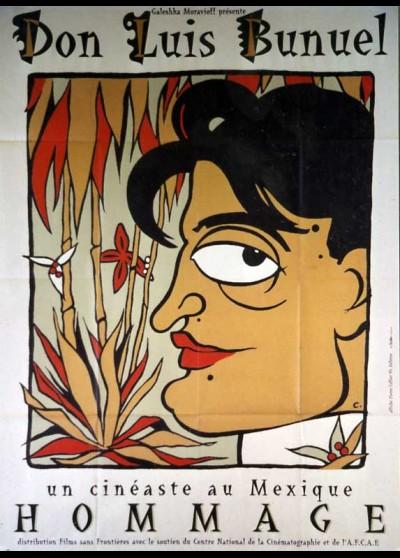 affiche du film DON LUIS BUNUEL UN CINEASTE AU MEXIQUE HOMMAGE