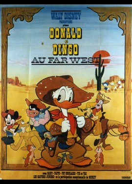 DONALD DUCK GOES WEST movie poster