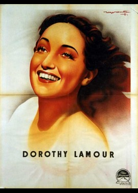 DOROTHY LAMOUR movie poster