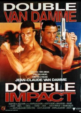affiche du film DOUBLE IMPACT