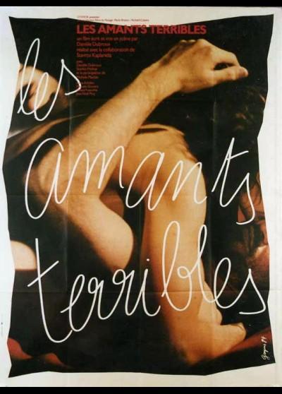 affiche du film AMANTS TERRIBLES (LES)