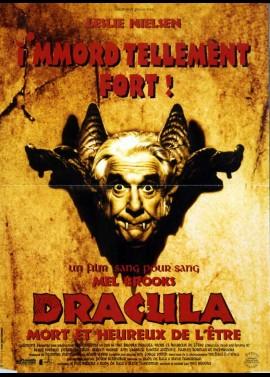 affiche du film DRACULA MORT ET HEUREUX DE L'ETRE