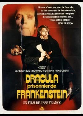 affiche du film DRACULA PRISONNIER DE FRANKENSTEIN