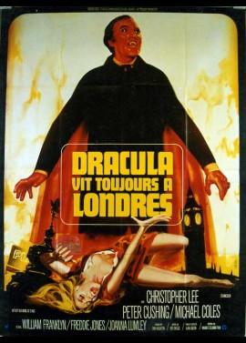 affiche du film DRACULA VIT TOUJOURS A LONDRES