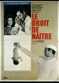 DROIT DE NAITRE (LE)