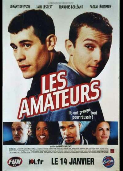 AMATEURS (LES) movie poster