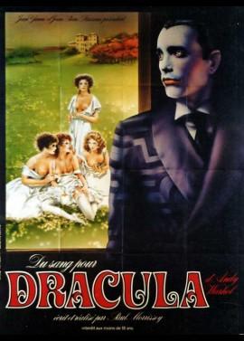 affiche du film DU SANG POUR DRACULA