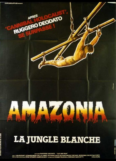 affiche du film AMAZONIA LA JUNGLE BLANCHE
