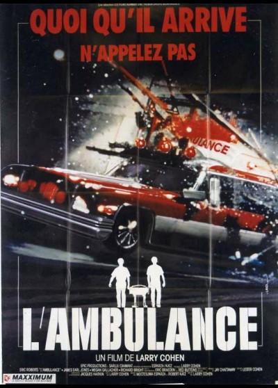 AMBULANCE (THE) movie poster