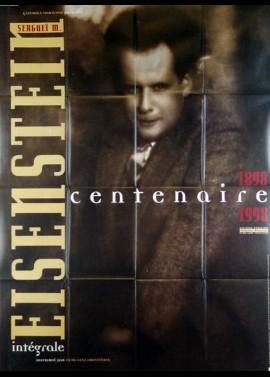 affiche du film EISENSTEIN CENTENAIRE 1898 1998