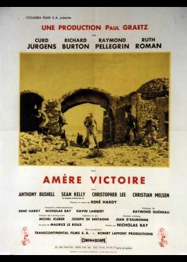 affiche du film AMERE VICTOIRE