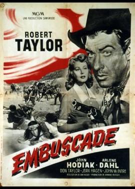 AMBUSH movie poster