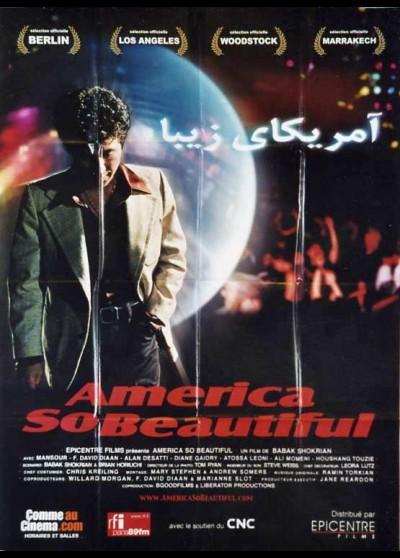 affiche du film AMERICA SO BEAUTIFUL