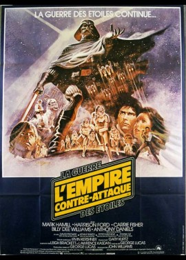 EMPIRE SRIKES BACK (THE). STAR WARS EPISODE 5 movie poster