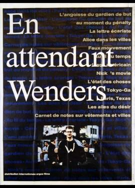 affiche du film EN ATTENDANT WENDERS