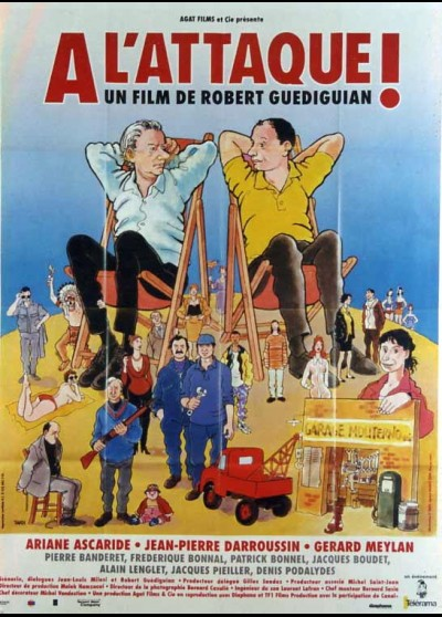 A L'ATTAQUE movie poster