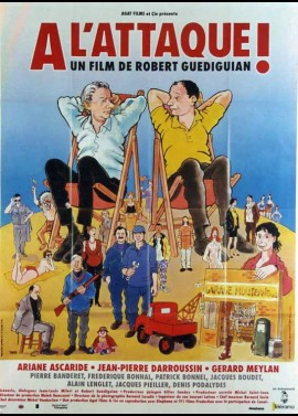 affiche du film A L'ATTAQUE