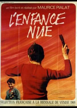 affiche du film ENFANCE NUE (L')