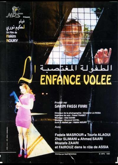 ENFANCE VOLEE movie poster