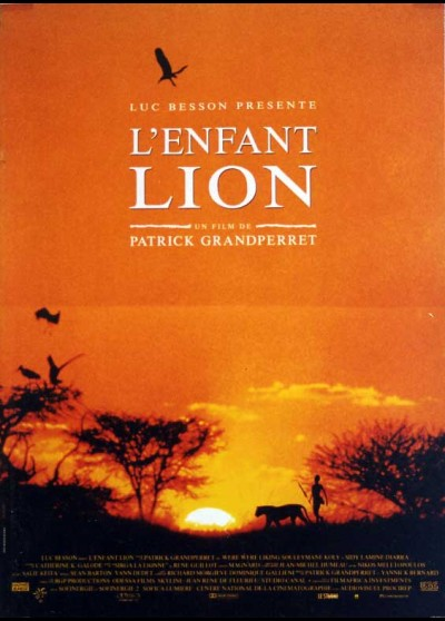 affiche du film ENFANT LION (L')