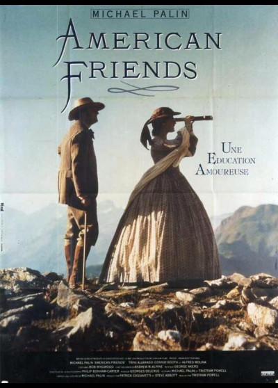 AMERICAN FRIENDS movie poster