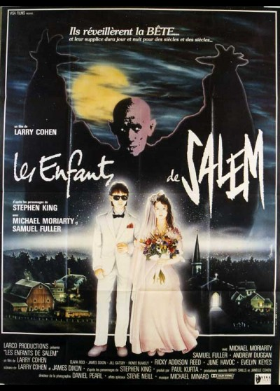 A RETURN TO SALEM'S LOT movie poster
