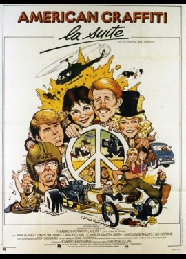 MORE AMERICAN GRAFFITI movie poster