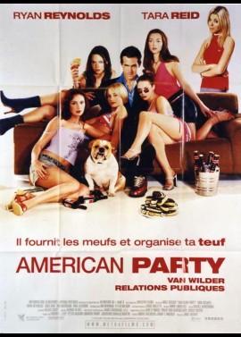 affiche du film AMERICAN PARTY