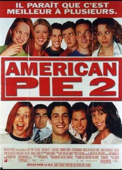 affiche du film AMERICAN PIE 2