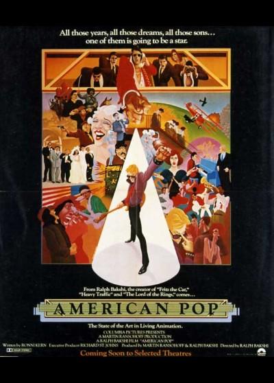 AMERICAN POP movie poster